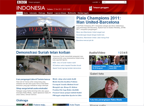 Bbc Vs Indonesian