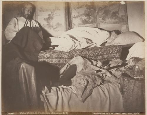 I. W. Taber opium den photo