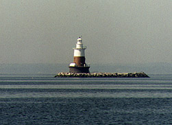 Greens Ledge Light in 1997 - 28th trip