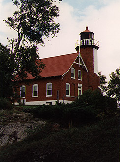 Eagle Harbor Light in 1988 - 5th trip