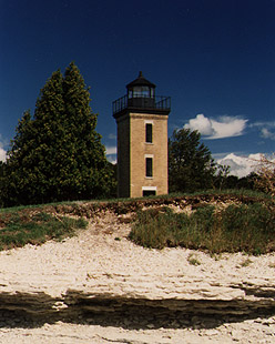 Peninsula Point Light in 1988 - 5th trip