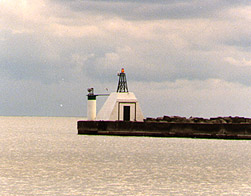 Port Burwell West Breakwater Light in 1991 - 11th trip