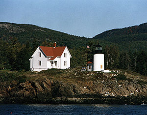 Curtis Island Light in 2002 - 40th trip