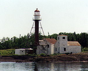 Manitou Island Light in 1997 - 29th trip