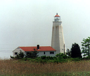 Lynde Point Light in 1997 - 28th trip