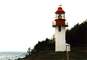 Cape Croker Light in 1990 - 9th trip