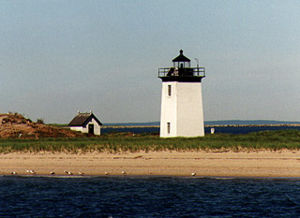 Long Point Light in 1997 - 28th trip