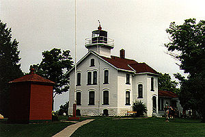 Grand Traverse Light in 1994 - 20th trip