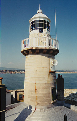 Dun Laoghaire East Light in 1995 - 22nd trip