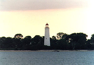 Chantry Island Light in 1990 - 9th trip