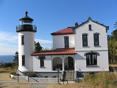 Admiralty Head Light in 2006 - 47th trip