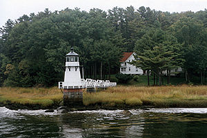 Doubling Point Light in 2002 - 40th trip