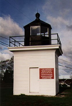 Cape Vincent Light in 1995 - 23rd trip