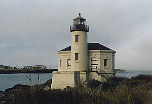 Coquille River Light in 2003 - 42nd trip