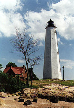 Five Mile Point Light in 1997 - 28th trip