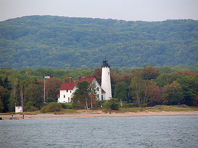 Point Iroquois Light in 2007 - 48th trip