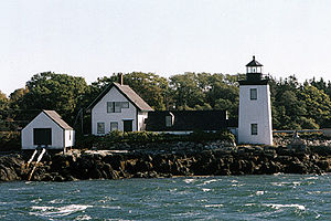 Grindle Point Light in 2002 - 40th trip