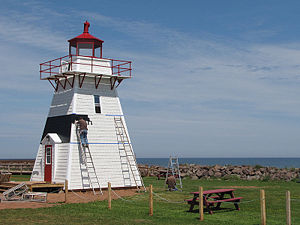 Big Tignish Light in 2009 - 50th trip