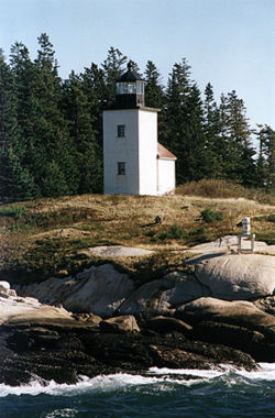 Deer Island Thorofare Light in 2002 - 40th trip