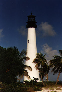 Cape Florida Light in 1996 - 27th trip