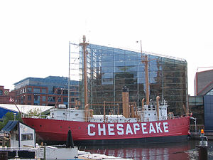 Chesapeake Lightship in 2007 - 49th trip