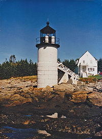 Marshall Point Light in 2002 - 40th trip