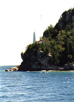 Flower Pot Island Light in 1990 - 9th trip