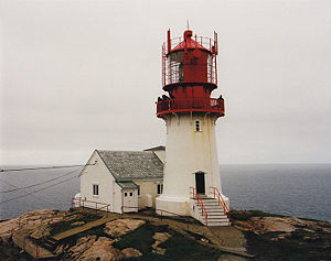 Lindesnes Light in 2000 - 36th trip