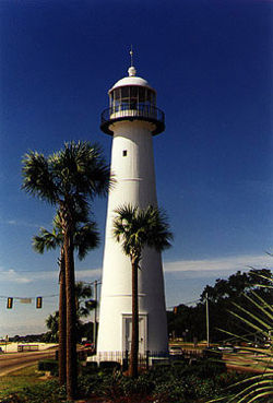 Biloxi Light in 1997 - 30th trip