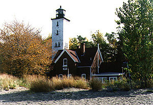 Presque Isle Light (PA) in 1991