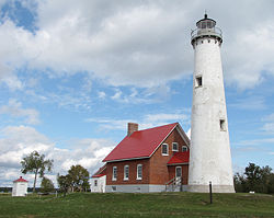 Tawas Point Light in 2009